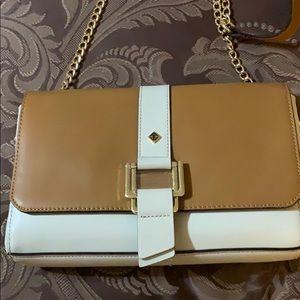 Antonio Melani Leather Shoulder Bag